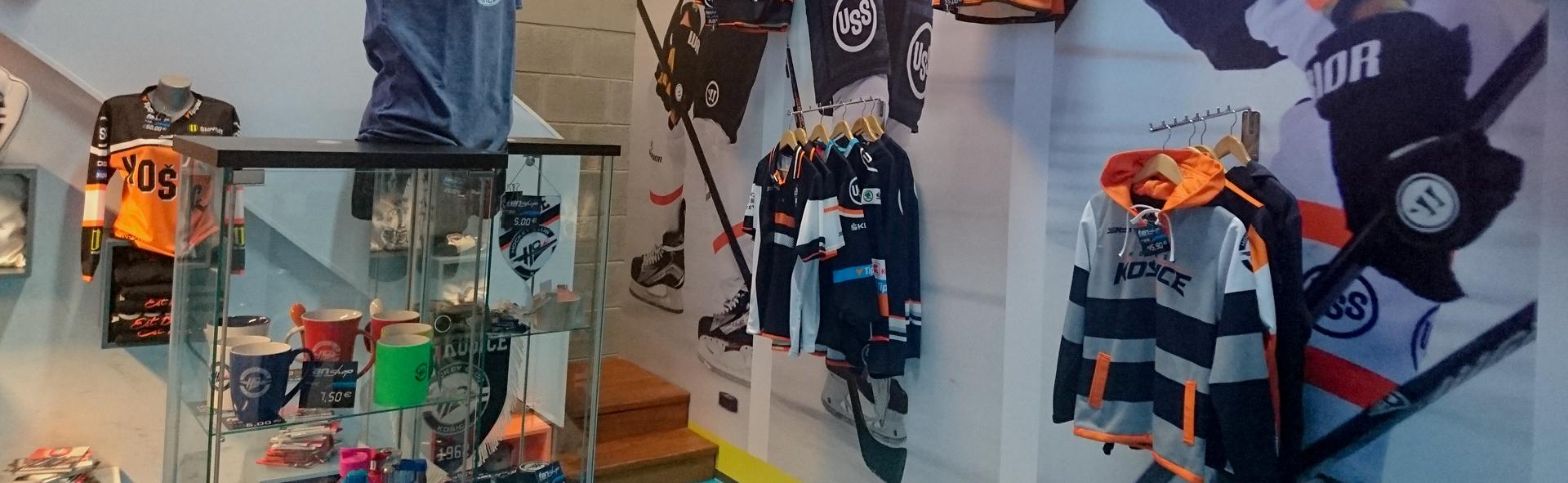 07d02055e5b4 Fanshop HC Košice