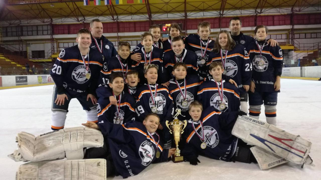 Steelers U13 won the international tournament Multisport Cup