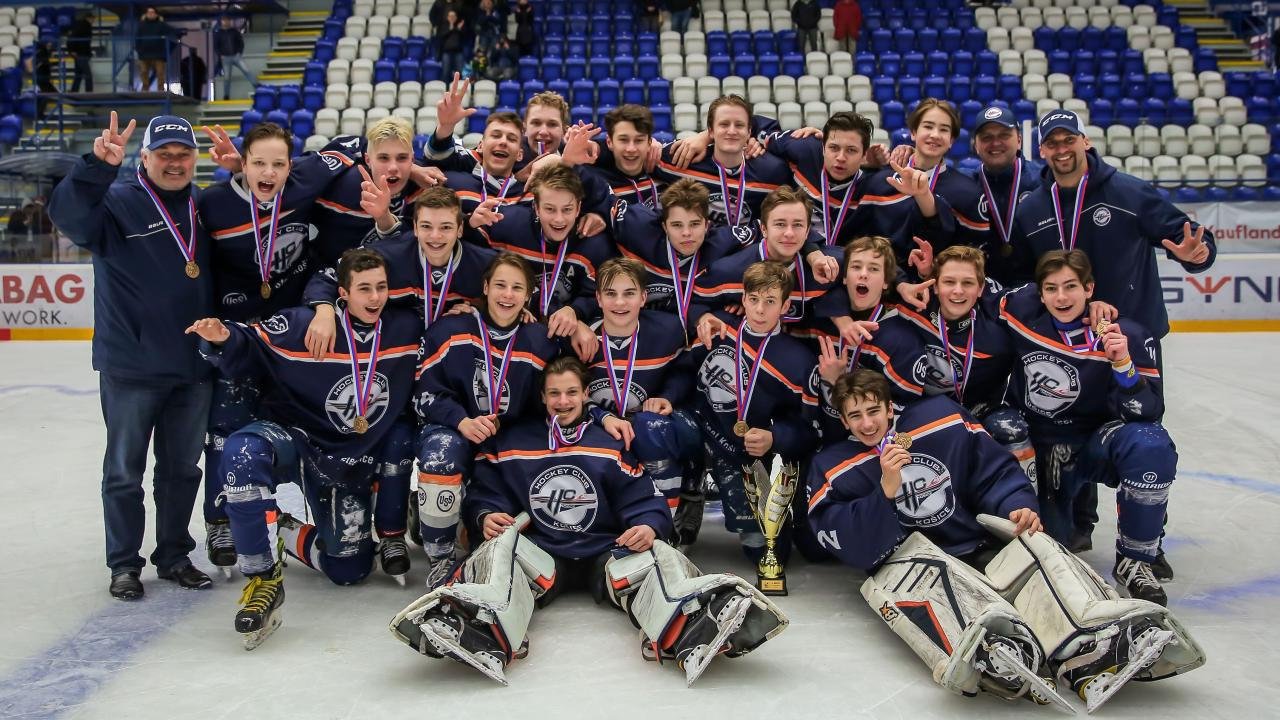 HC Košice Cadets won the 3rd place in the Slovak national hockey competition