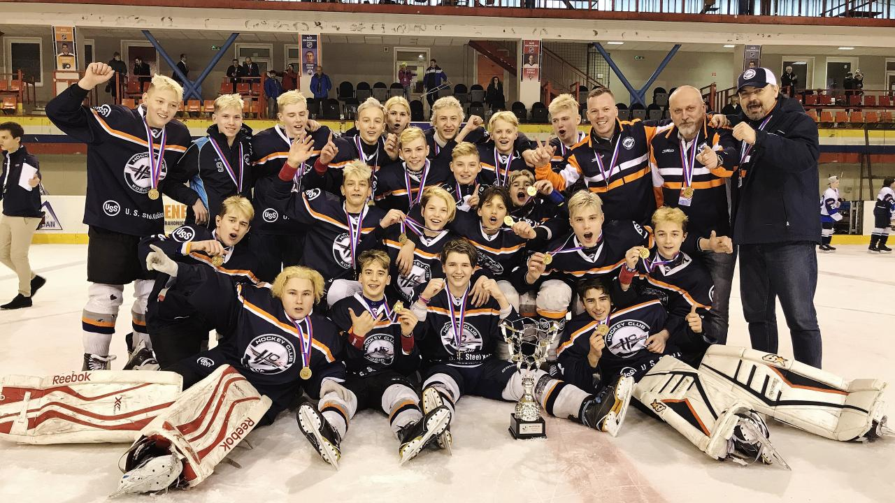 Senior elementary school students (grade eight) of HC Košice are the Slovak champions!