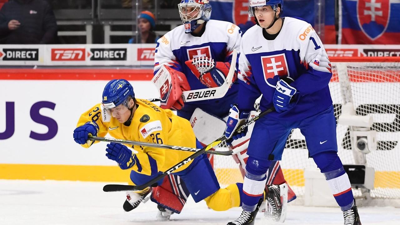 Košice defender Martin Bučko participated in the World Junior Championship
