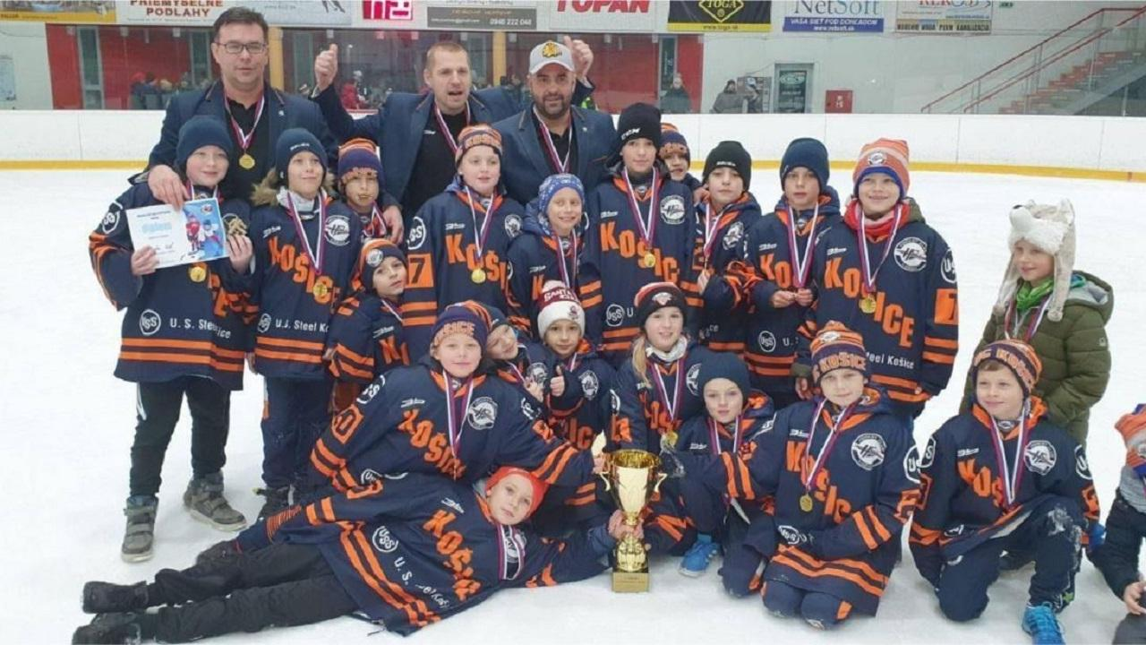 Our U10 hockey players won the tournament in Partizánske