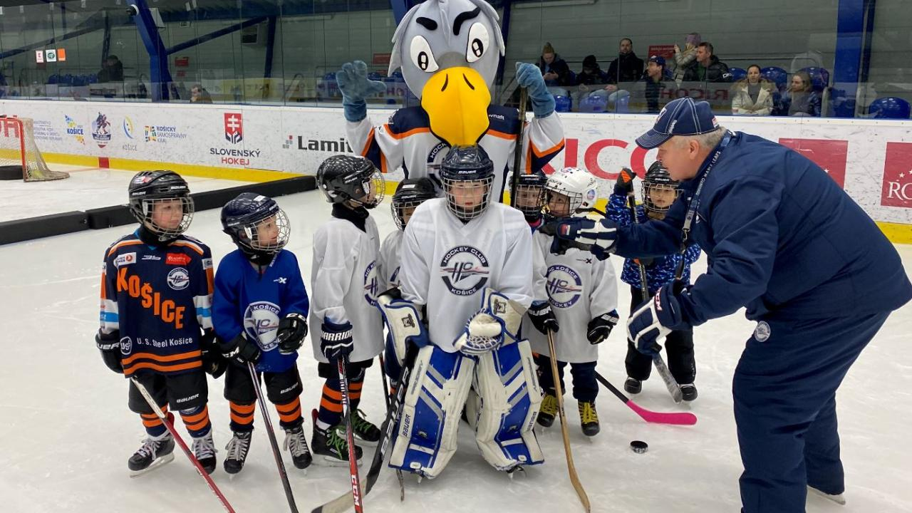Another recruitment of young hockey players took place last weekend at Steel Arena. It is ongoing throughout the year!
