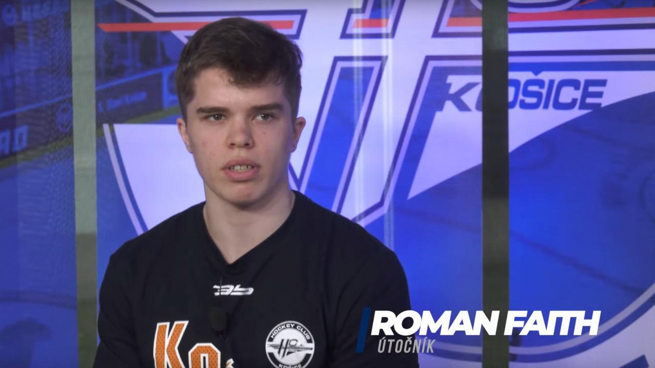 Roman Faith ranked #125 by NHL Central Scouting