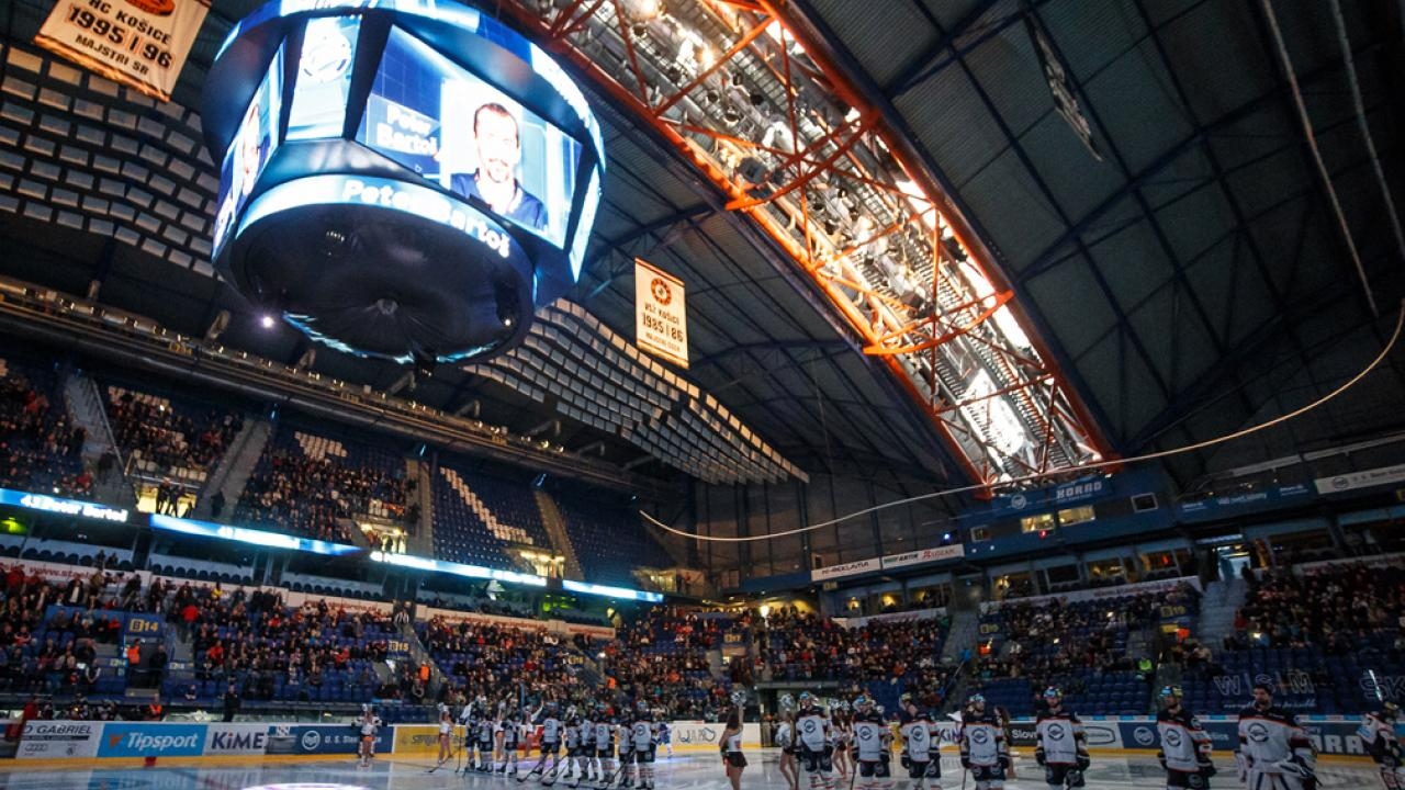 Home-ice advantage on Friday and Sunday! Košice will be hosting teams from Podpoľana and Hungary